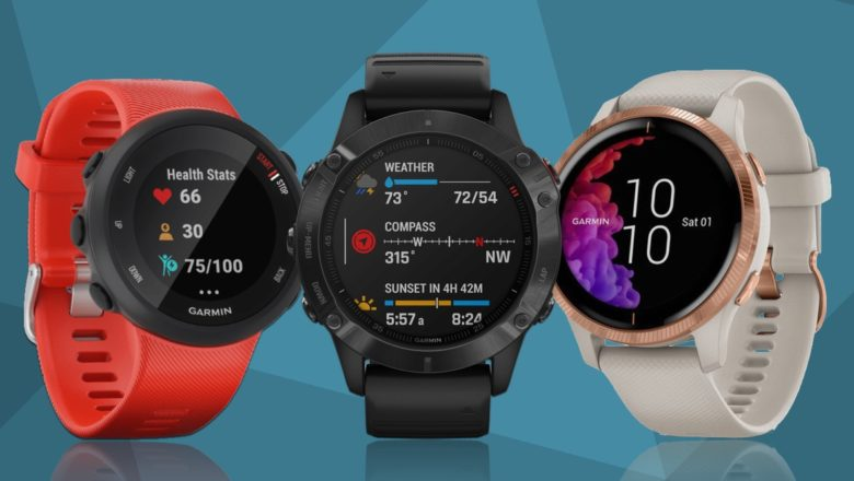 On Amazon, Garmin smartwatches are for sale at low prices