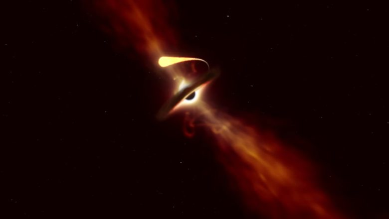 """Astronomers see, a black hole """"spaghettify"""" a star in real time"""