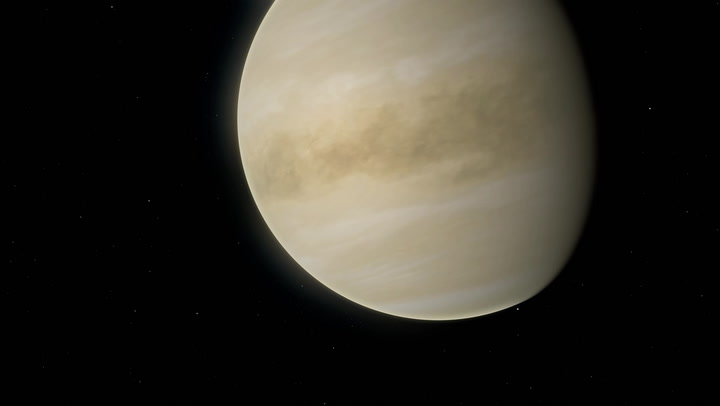 Bits of Venus can hide on the moon