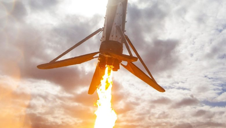 After the booster engine swap, SpaceX fired the Falcon 9 rocket