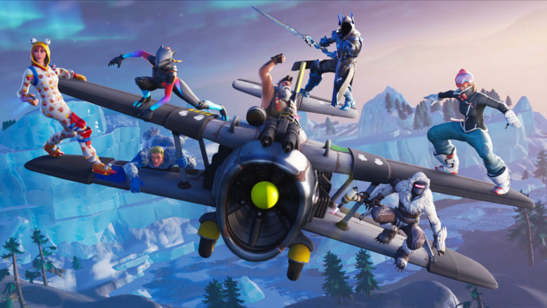 Fortnite's holiday event brings you back on the airplanes