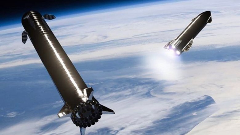 Elon Musk says SpaceX will try to catch up with the super heavy rocket launch tower