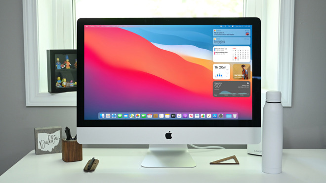 Apple is planning a significant update of iMac line of desktop computers, the report said