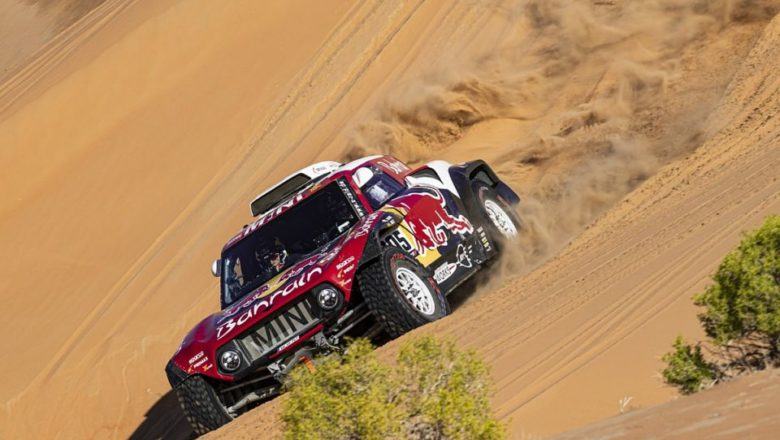 The 'Dakar Rally' now features Mid-Air Collisions
