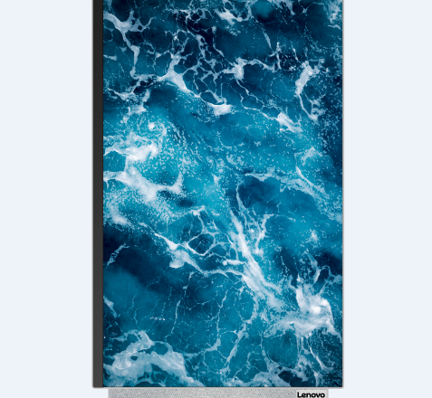 Lenovo's Yoga 7 AiO can flip among landscape and portrait modes