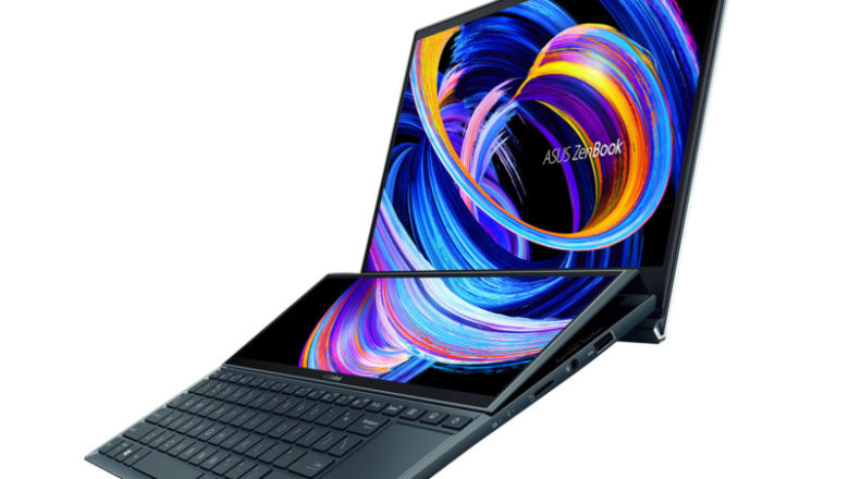 Asus's New Dual Screen Zenbooks aimed at creatives really look practical