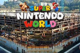 Universal Hollywood's 'Super Nintendo World' is moving fast