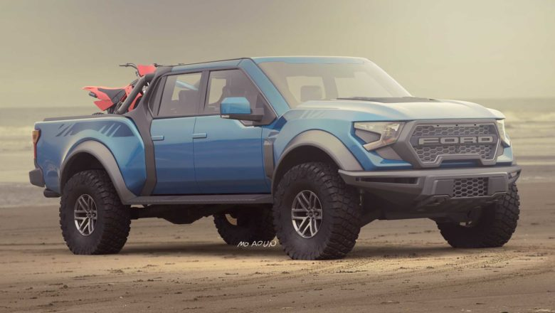 2021 Ford 'F-150 Raptor' prototype- spied with a V-8 Engine