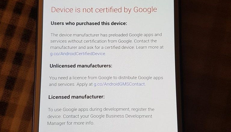 """What is an """"Uncertified"""" Android Device"""