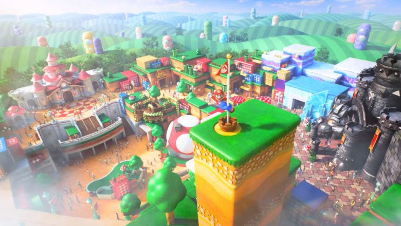 New Super Nintendo World- Commercial Shows Off 'Mario Kart Ride'