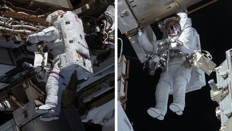NASA astronauts finished a multi-year project to upgrade batteries on the ISS